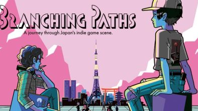 Branching Paths cover image for the documentary on Japanes games development