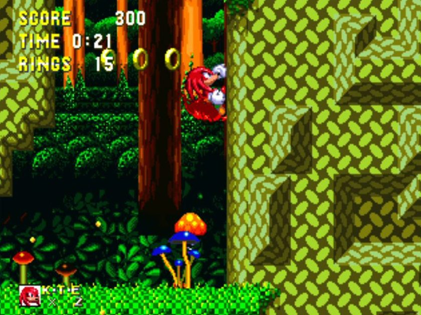 Sonic and Knuckles gameplay