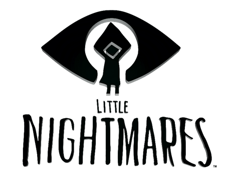 Little Nightmares logo on transparent background