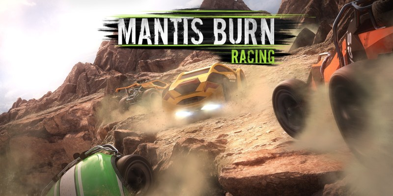 Mantis Burn Racing giveaway header