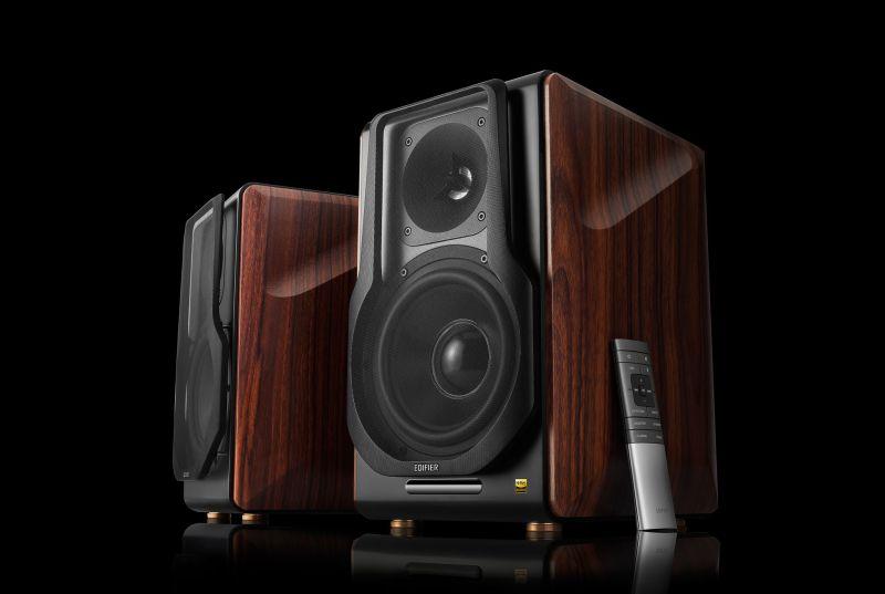 Edifier's first 2.0 wireless monitor speakers boast 256 watts total RMS