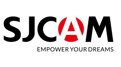 SJCAM logo with Empower Your Dreams slogan