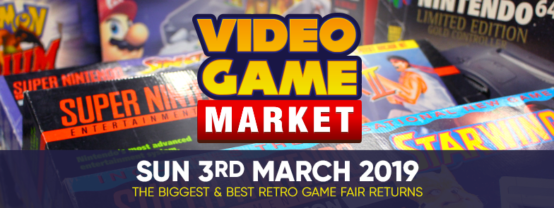 Video Game Market logo and dates