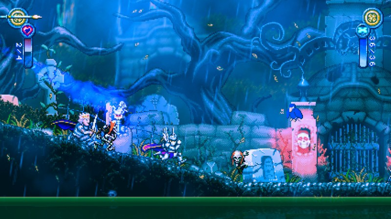 Battle Princess Madelyn gameplay footage