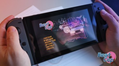 Beat Cop being played on the Nintendo Switch