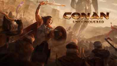 Petroglyph and Funcom's Conan Unconquered logo