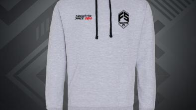 FULLSYNC Grey contrast Hoodie available at the Gamers Apparel merch store
