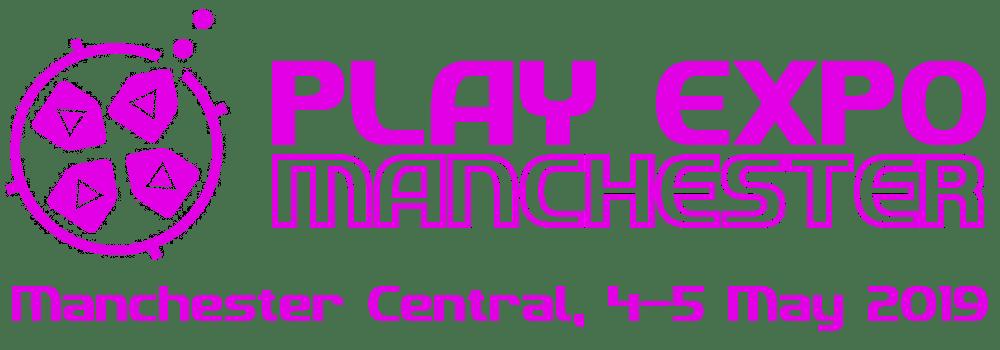 Play Expo Manchester 2019 logo
