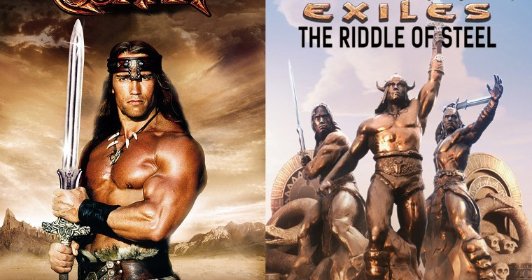 Conan Exiles The Riddle of Steel DLC artwork