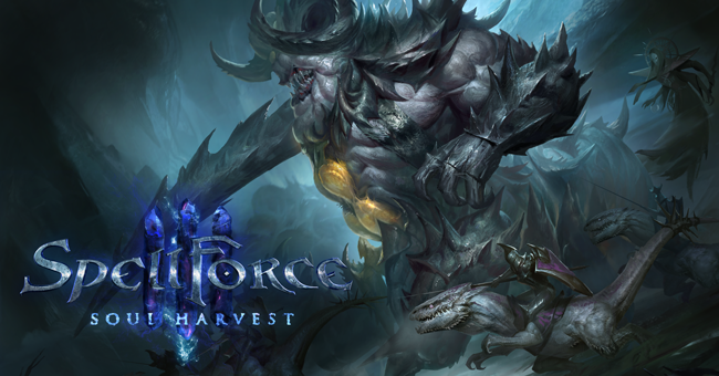 SpellForce 3: Soul Harvest logo and artwork