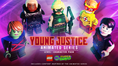 LEGO DC Super-Villains: Young Justice Animated Series Level and Character Pack artwork