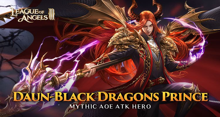 Daun Black Dragons Prince from League of Angels III