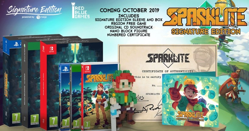 Sparklite Signature Edition poster