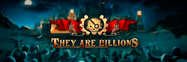 They Are Billions logo with zombies