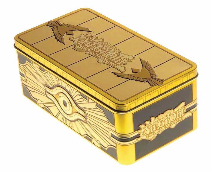 Yu-Gi-Oh! Trading Card Game 2019 Gold Sarcophagus Tin