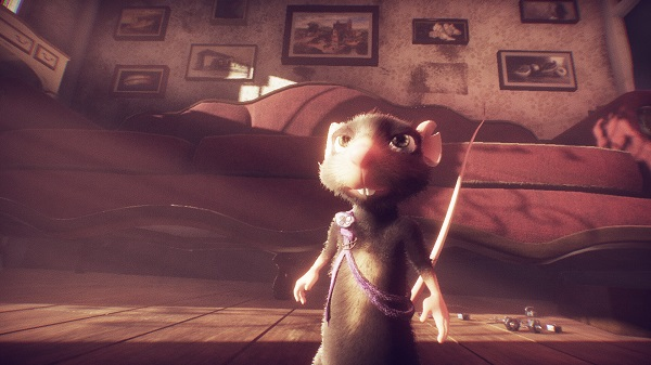 A Rat's Quest Mat