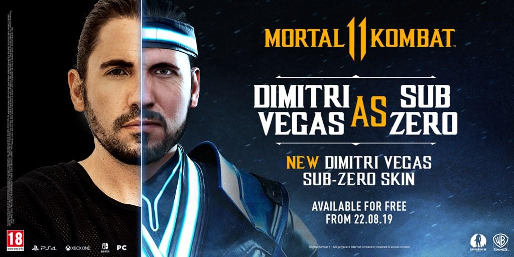 Dimitri Vegas Sub-Zero skin