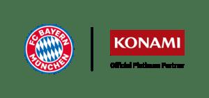 FC Bayern and Konami logo