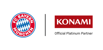 FC Bayern and Konami logo