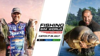 Fishing Sim World: Pro Tour celebrity anglers Scott Martin and Ali Hamidi