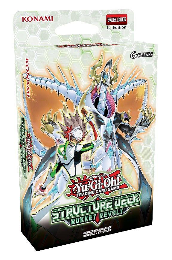 Yu-Gi-Oh! Trading Card Game Structure Deck: Rokket Revolt