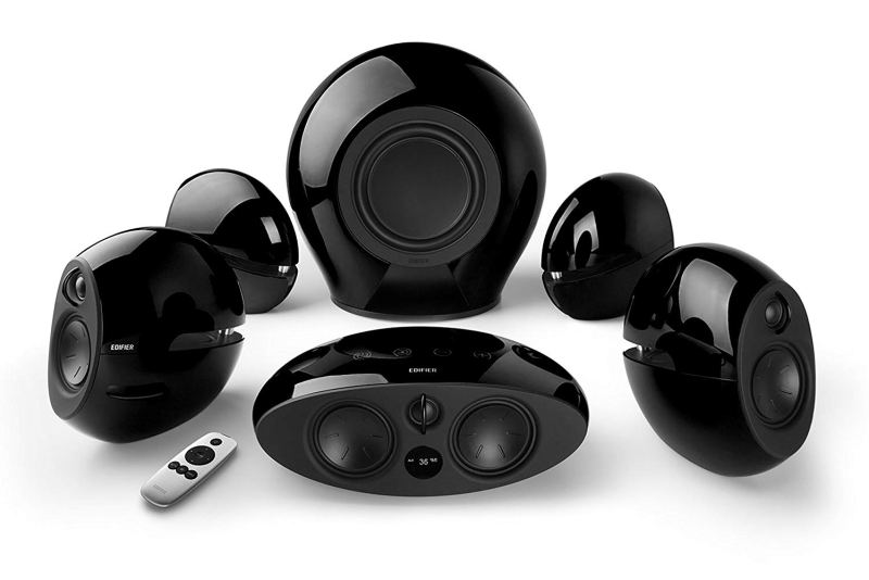 Edifier E255 speaker set in black
