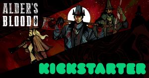 Alder's Blood Kickstarter logo