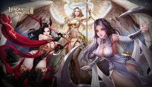League of Angels III logo and artwork