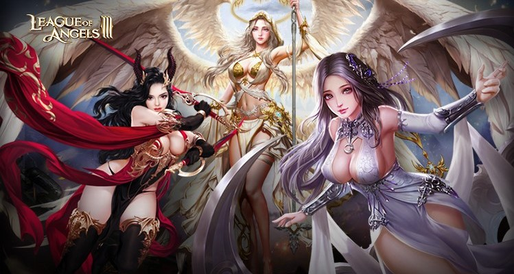 League of Angels III logo and artwork