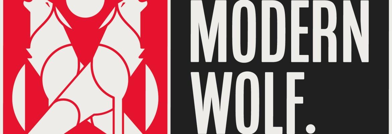 modern wolf logo