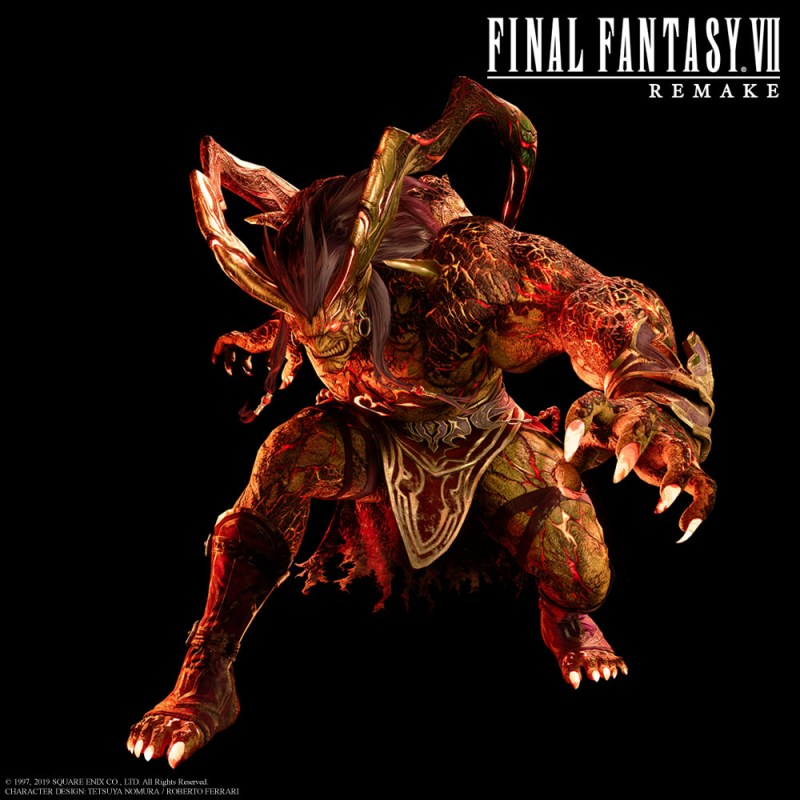 Ifrit from Final Fantasy VII Remake