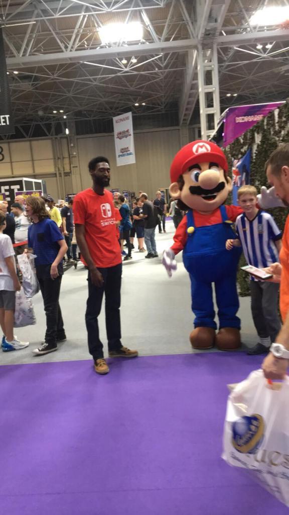 Its a him, Mario