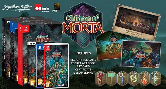 Children of Morta Pre Order nmow for Xbox One and PS4