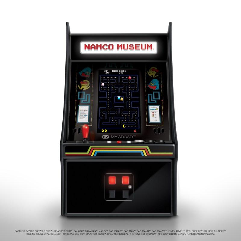 Mini arcade logo