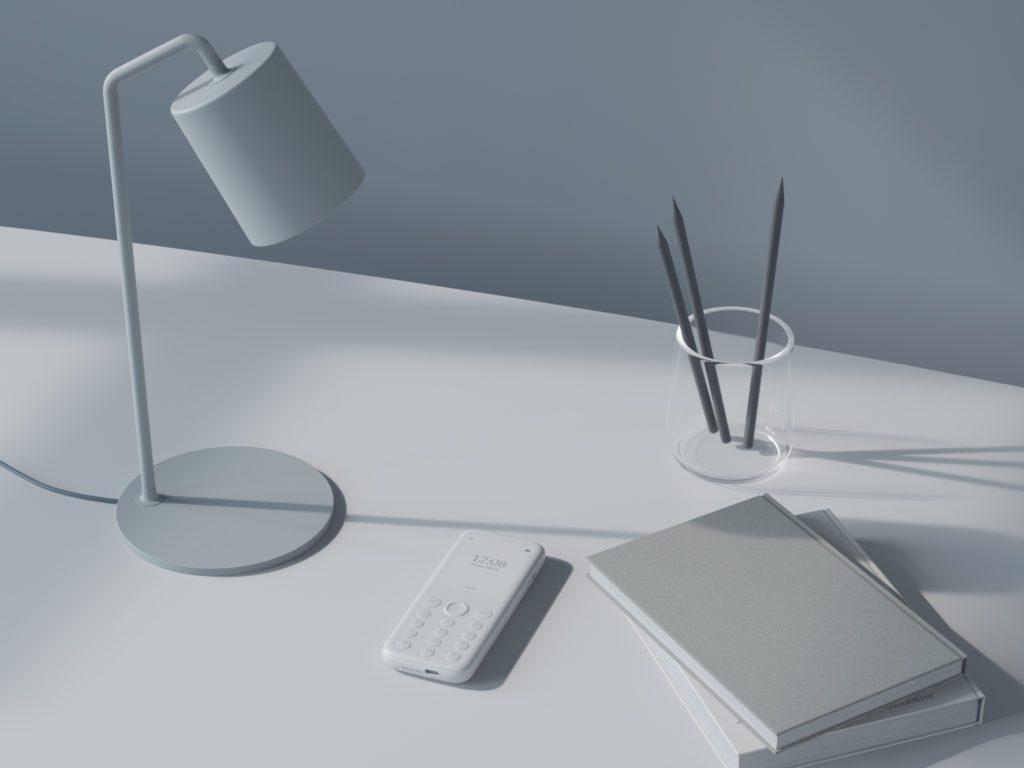 Medita Pure on desk