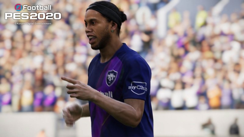 Ronaldinho makes an appearance in eFootball PES 2020