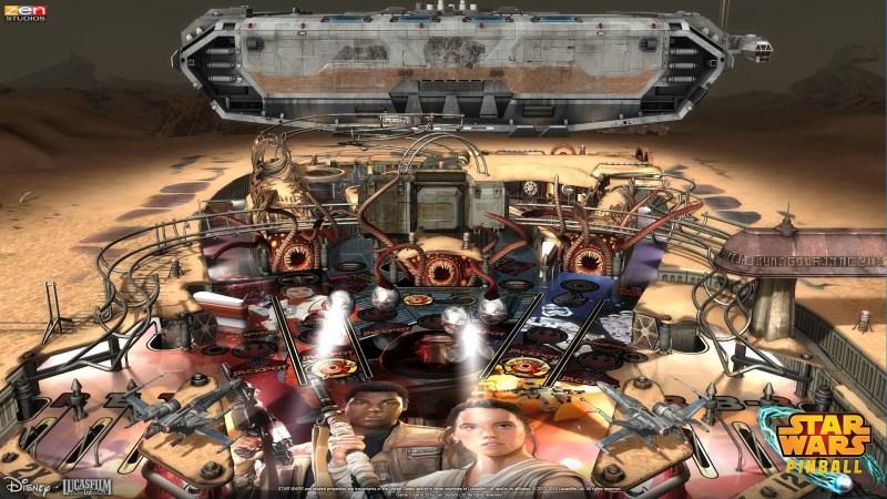Star Wars Pinball table
