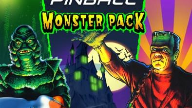 Monster Pack Pinball Logo