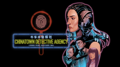 Chinatown Detective Agency logo and artwork
