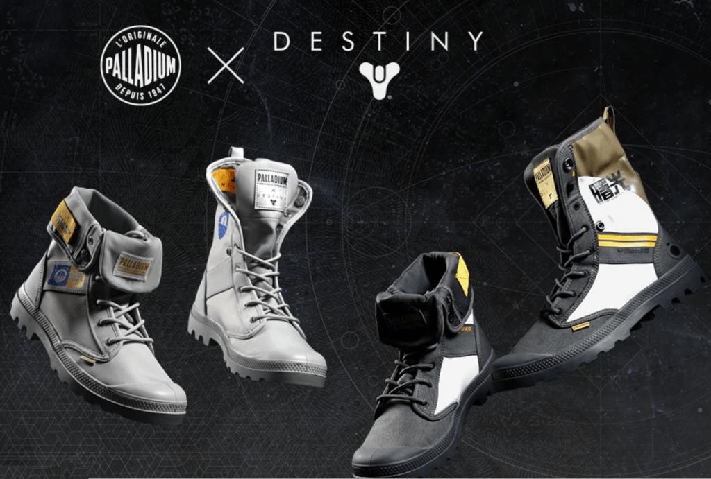 Palladium x Destiny Shoe Range