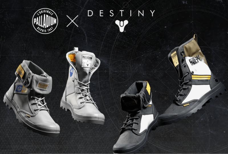 Palladium Boot x Destiny Shoe Range