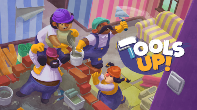 Tools Up logo and artwork