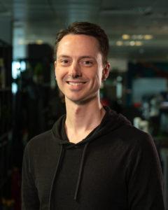 New talent, Creative Director Gavin Irby