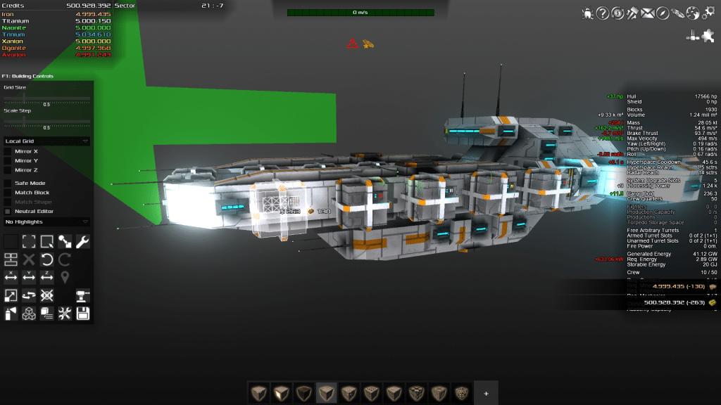 Avorion DIY Project Baumodus Screenshot