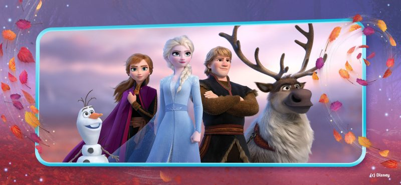 Disney Frozen Adventures Character Group Photo