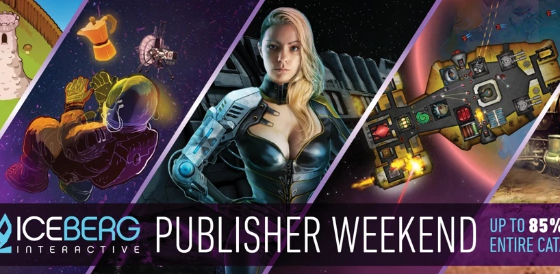 Iceberg Interactive Publisher Weekend artwork