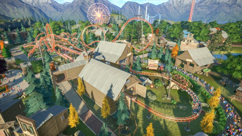 Planet Coaster gameplay screenshot