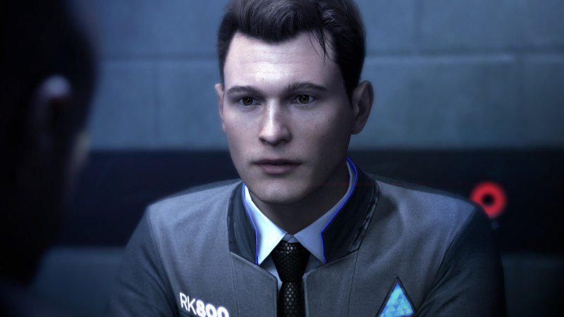 Quantic Dream's Detroit: Become Human gameplay fotoage of man