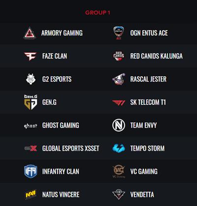 PUBG Global Championship Group 1
