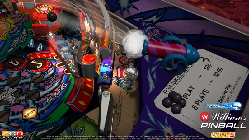 Williams Pinball: Volume 5 gameplay